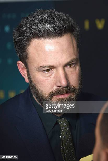 Writer director producer and actor Ben Affleck attends the Live By Night special screening at Metrograph on December 13 2016 in New York City
