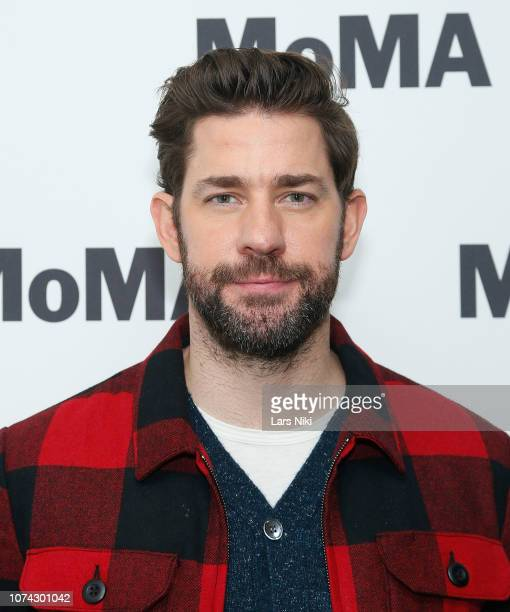 Writer director producer and actor John Krasinski attends MoMA's Contenders screening of 'A Quiet Place' at MoMA Titus One on December 16 2018 in New...