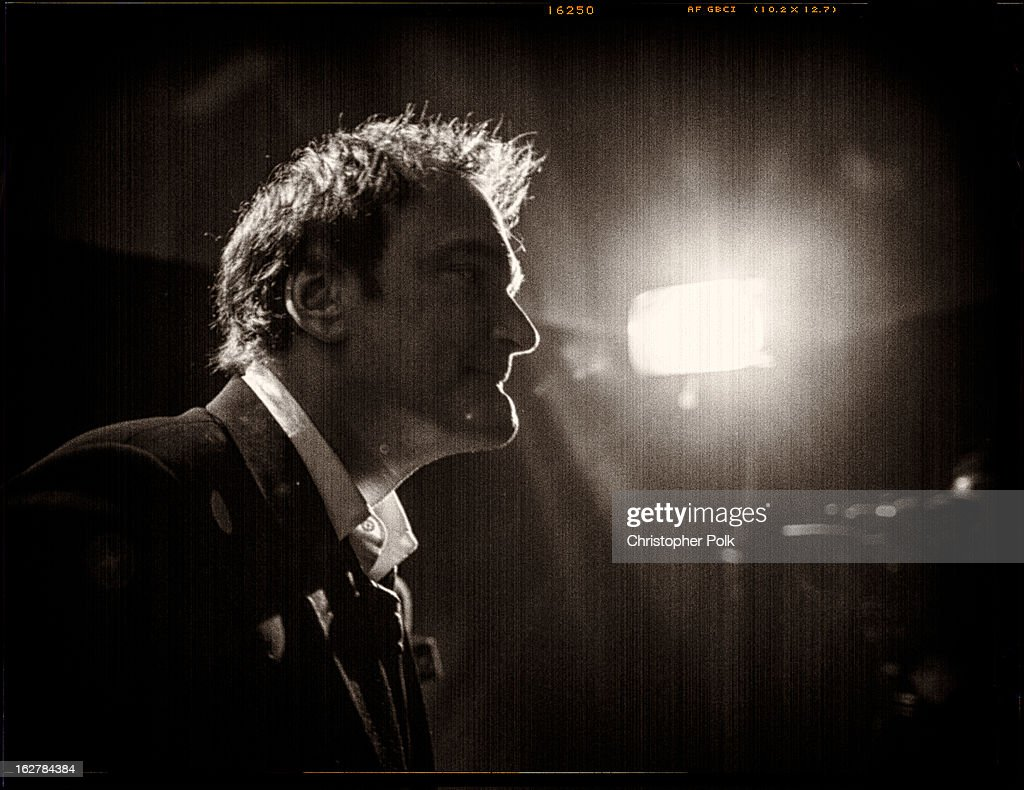 Writer/ director Quentin Tarantino backstage during the Oscars held at the Dolby Theatre at Hollywood & Highland Center on February 24, 2013 in Hollywood, California.