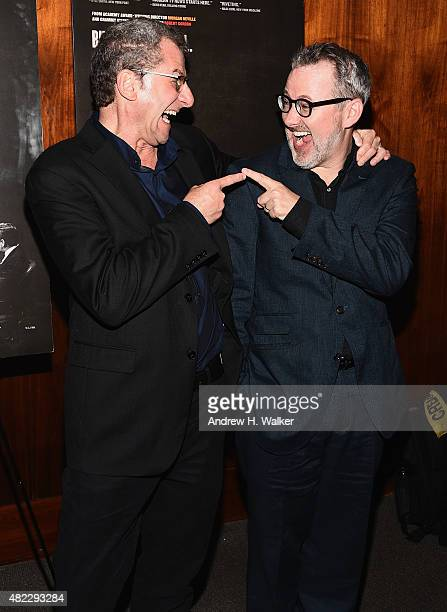 Writer / directors Robert Gordon and Morgan Neville attend Best Of Enemies New York Premiere at Museum Of Arts And Design on July 29 2015 in New York...