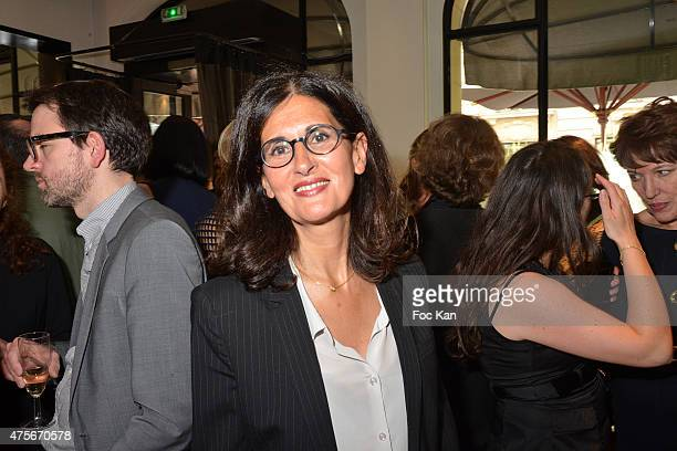 Writer Dominique Dyens attends the Marie Claire Magazine Litterary Awards 2015 At le Montalembert on June 2, 2015 in Paris, France.
