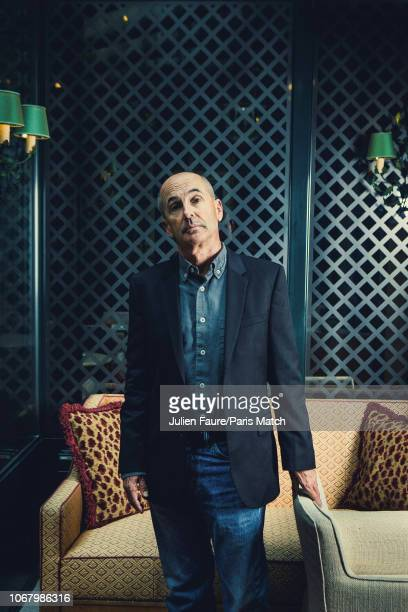 Writer Don Winslow is photographed for Paris Match in Paris on November 6 2018
