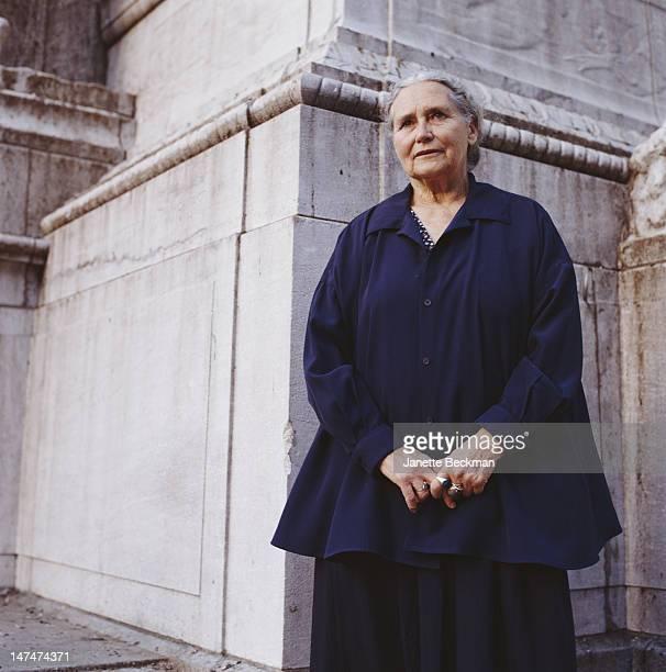 Writer Doris Lessing New York City 2003