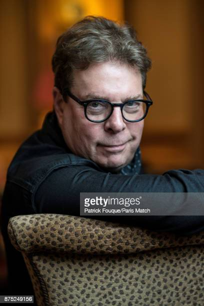Writer Douglas Kennedy is photographed for Paris Match on October 23 2017 in Paris France