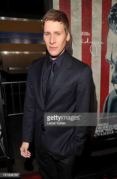 """Writer Dustin Lance Black arrives at the AFI Fest 2011 Opening Night Gala World Premiere Of """"J. Edgar"""" at Grauman's Chinese Theatre on November 3,..."""
