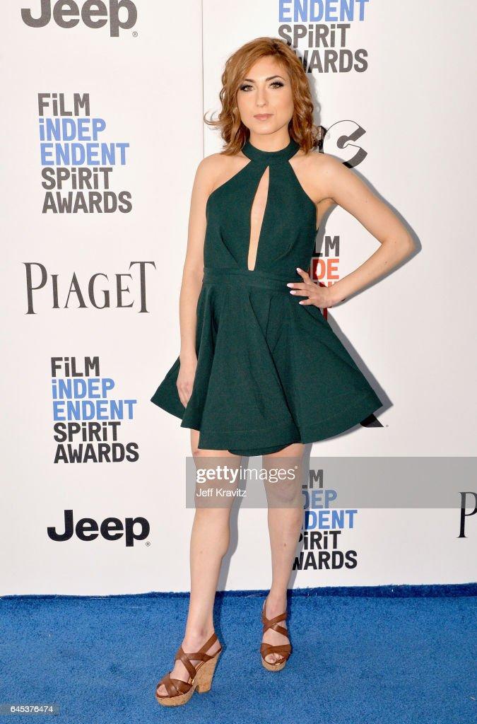 Writer Eden Dranger attends the 2017 Film Independent Spirit Awards at the Santa Monica Pier on February 25, 2017 in Santa Monica, California.