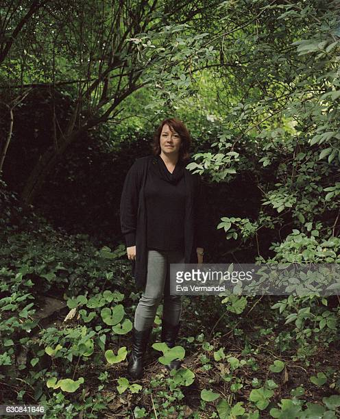 Writer Eimear McBride is photographed for the Financial Times on August 3 2016 in London England