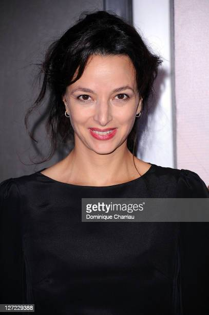 "Writer Eliette Abecassis attends ""Un Heureux Evenement"" premiere at UGC Cine Cite Bercy on September 26, 2011 in Paris, France."
