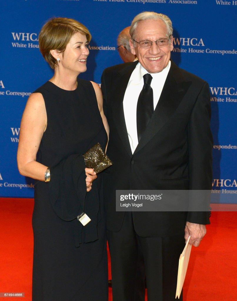 Bob Woodward z wdzięczna, Żona Elsa Walsh