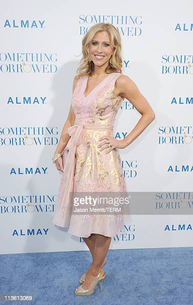 Writer Emily Giffin arrives at the premiere of Warner Bros 'Something Borrowed' held at Grauman's Chinese Theatre on May 3 2011 in Hollywood...