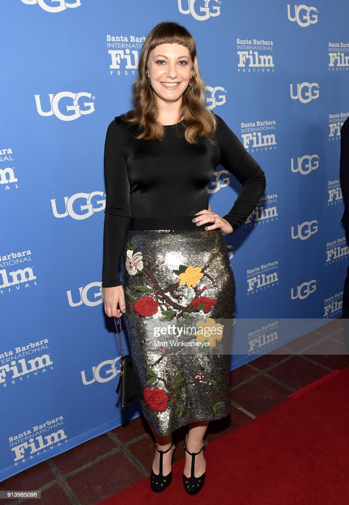 Writer Emily V. Gordon at the Virtuosos Award Presented By UGG during The 33rd Santa Barbara International Film Festival at Arlington Theatre on February 3, 2018 in Santa Barbara, California.