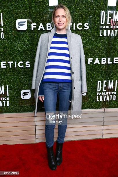 Writer Erin Foster attends the launch of Fabletics Capsule Collection at the Beverly Hills Hotel on May 10 2017 in Los Angeles California