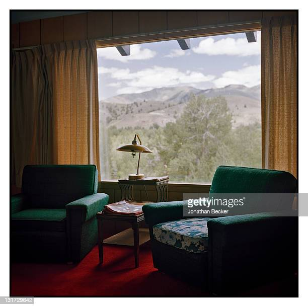 Writer Ernest Hemingway's home is photographed for Town & Country Magazine on June 30, 2011 in Ketchum, Idaho. The property is owned by the Nature...