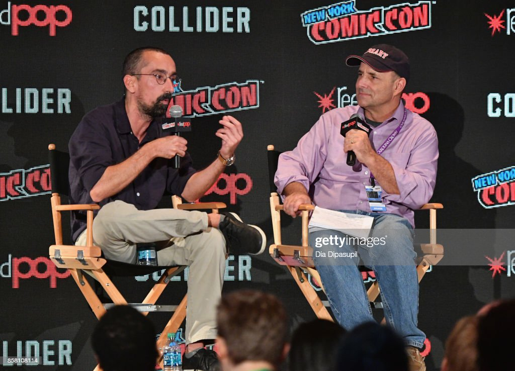 Writer Fabien Nury speaks onstage during The Death of Stalin at the 2017 New York Comic Con - Day 1 on October 5, 2017 in New York City.