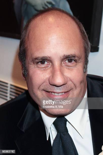 Writer Federico Moccia attends '2009 Margutta Awards' at Margutta RistoArte on November 24 2009 in Rome Italy