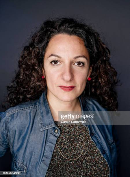 Writer film director and actor Ana Katz is photographed at the BFI London Film Festival on October 18 2018 in London England