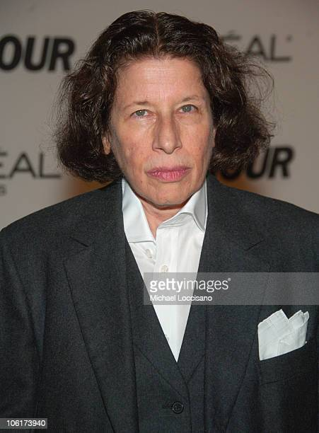 Writer Fran Lebowitz attends The Glamour Magazine 2007 Women of The Year Awards at Lincoln Center's Avery Fisher Hall on November 5 2007 in New York...
