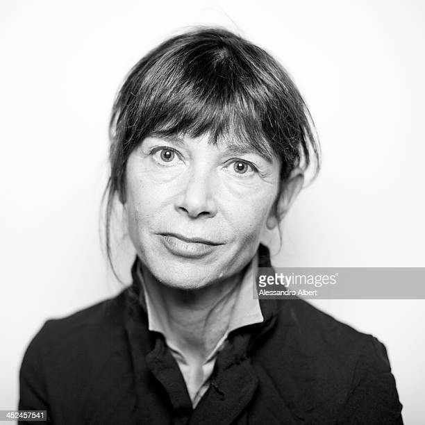 Writer Francesca Marciano is photographed for Self Assignment during 31Turin Film Festival on November 26 2013 in Turin Italy