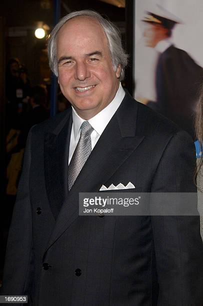 Writer Frank Abagnale Jr attends the premiere of Catch Me If You Can at the Mann Village Theatre on December 16 2002 in Westwood California