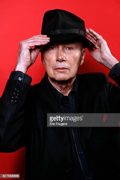 Writer Gabriel Matzneff Photographed in PARIS
