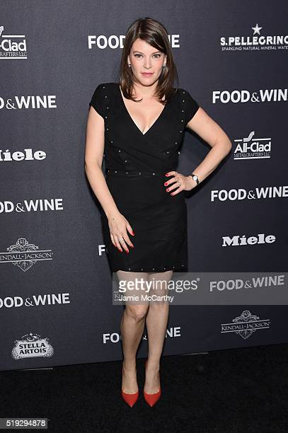 Writer Gail Simmons attends FOOD WINE 2016 Best New Chefs event on April 5 2016 in New York City