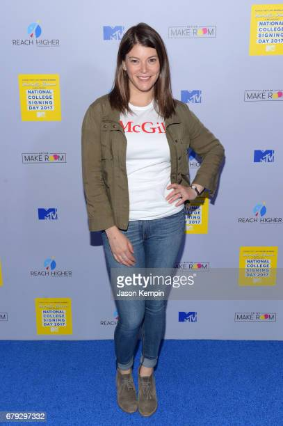 Writer Gail Simmons attends the MTV's 2017 College Signing Day With Michelle Obama at The Public Theater on May 5, 2017 in New York City.