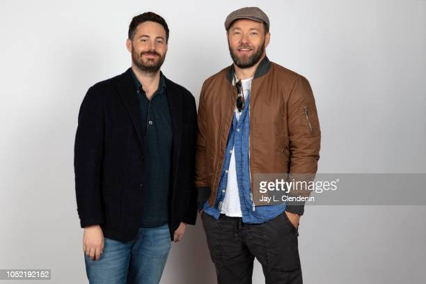 Writer Garrard Conley and director Joel Edgerton from 'Boy Erased' are photographed for Los Angeles Times on September 9 2018 in Toronto Ontario...