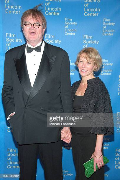 Writer Garrison Keillor and wife Lind Nilsson attend the Film Society of Lincoln Center's 35th Gala Tribute honoring Meryl Streep at Lincoln Center's...