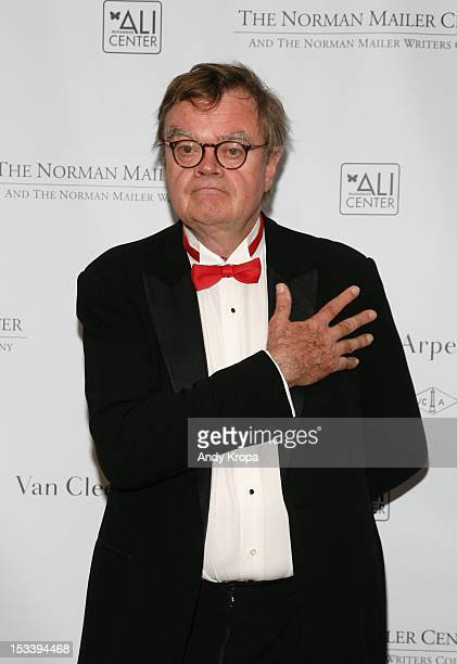 Writer Garrison Keillor attends the Norman Mailer Center 4th Annual Benefit Gala on October 4 2012 in New York City