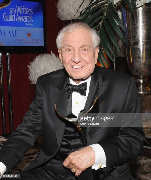 Writer Garry Marshall in Backstage Creations Celebrity Retreat at the 2014 Writers Guild Awards at JW Marriott Los Angeles at LA LIVE on February 1...