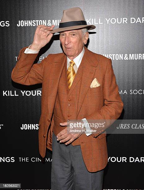 Writer Gay Talese attends The Cinema Society and Johnston Murphy screening of Sony Pictures Classics' Kill Your Darlings at Paris Theater on...