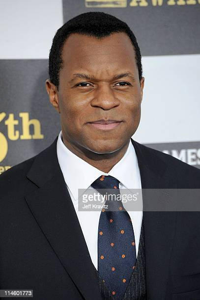 Writer Geoffrey Fletcher arrives at the 25th Film Independent Spirit Awards held at Nokia Theatre LA Live on March 5 2010 in Los Angeles California