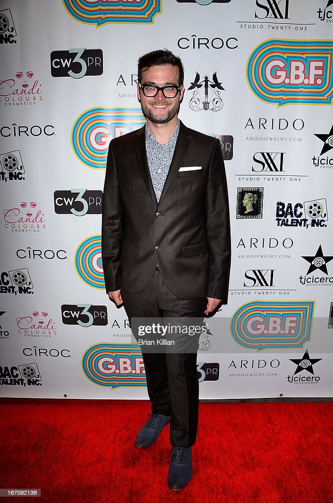 Writer George Northy attends the screening of 'G.B.F.' during the 2013 Tribeca Film Festival at Studio XXI on April 19, 2013 in New York City.