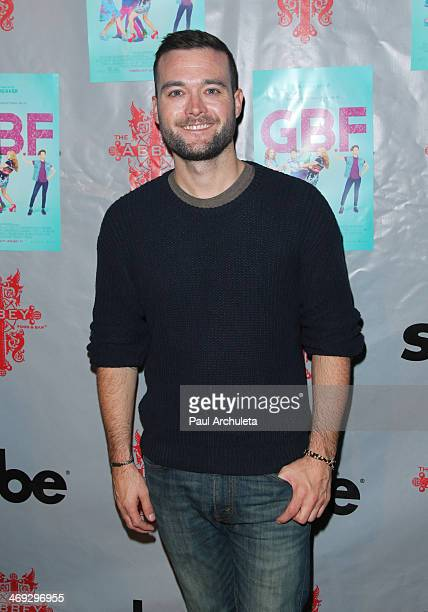 Writer George Nothy attends the DVD release party for 'GBF' at The Abbey on February 13 2014 in West Hollywood California