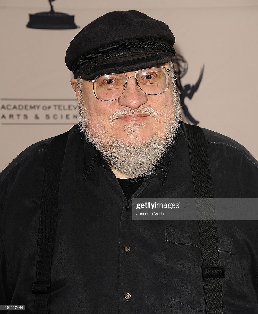 Writer George R. R. Martin attends an evening with 'Game Of Thrones' at TCL Chinese Theatre on March 19, 2013 in Hollywood, California.