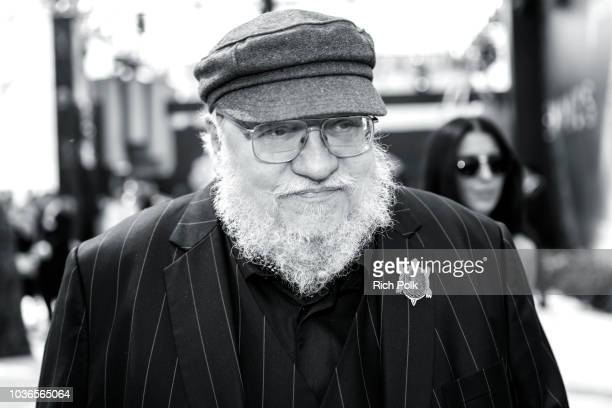 Writer George R. R. Martin, winner of Outstanding Drama Series for 'Game of Thrones', attends IMDb LIVE After The Emmys 2018 on September 17, 2018 in...