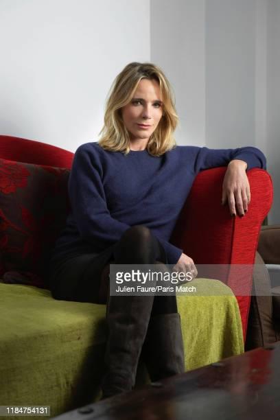 Writer Geraldine Danon is photographed for Paris Match on October 28 2019 in Paris France