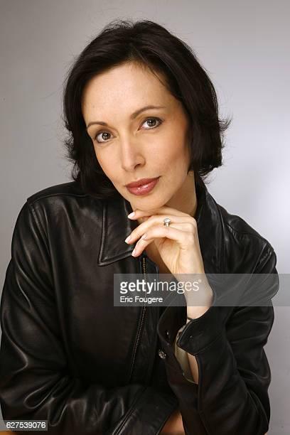 Writer Geraldine Maillet attends the France 3 TV show 'Les Grands du Rire' in Paris