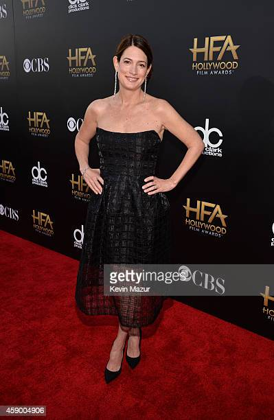 Writer Gillian Flynn attends the 18th Annual Hollywood Film Awards at The Palladium on November 14 2014 in Hollywood California