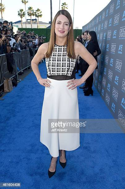 Writer Gillian Flynn attends the 20th annual Critics' Choice Movie Awards at the Hollywood Palladium on January 15 2015 in Los Angeles California