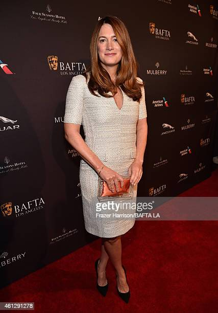 Writer Gillian Flynn attends the BAFTA Los Angeles Tea Party at The Four Seasons Hotel Los Angeles At Beverly Hills on January 10, 2015 in Beverly...