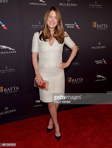 Writer Gillian Flynn attends the BAFTA Los Angeles Tea Party at The Four Seasons Hotel Los Angeles At Beverly Hills on January 10 2015 in Los Angeles...