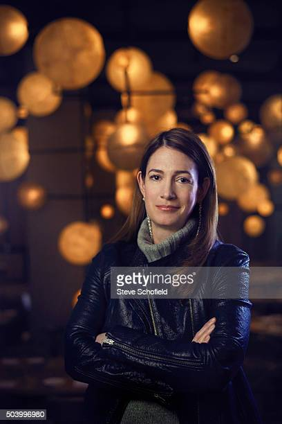 Writer Gillian Flynn is photographed for Event magazine on October 6 2015 in Los Angeles California