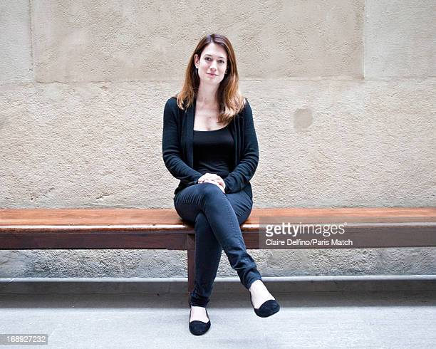 Writer Gillian Flynn is photographed for Paris Match on March 30 2013 in Lyon France