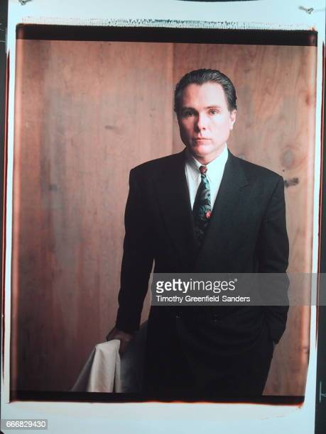 Writer Glenn O'Brien is photographed in 1989 in New York City