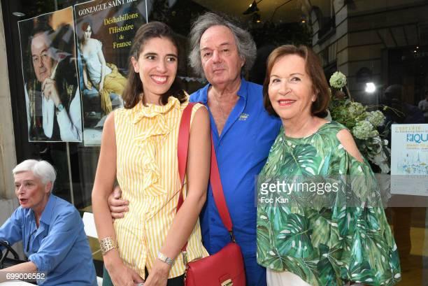 PARIS FRANCE JUNE 20Ê Writer Gonzague Saint Bris and guests attend Ken Okada Yellow Carpet Street Show Rue de La Chaise As Part of Faubourg Saint...
