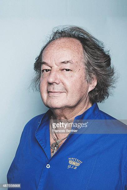Writer Gonzague Saint Bris is photographed on September 9 2015 in Deauville France