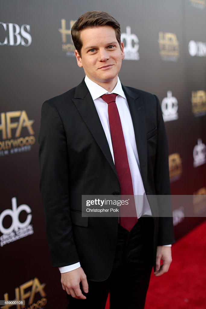 Writer Graham Moore attends the 18th Annual Hollywood Film Awards at The Palladium on November 14, 2014 in Hollywood, California.