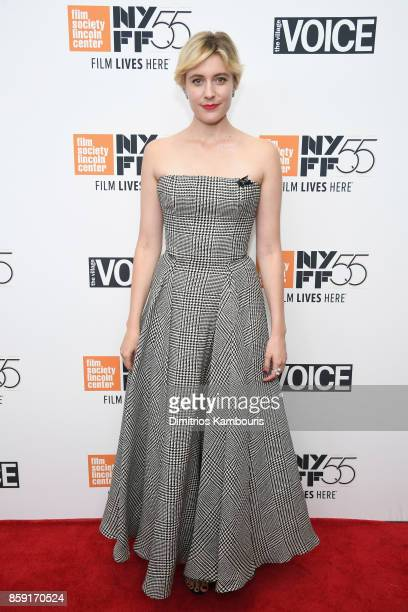 Writer Greta Gerwig attends 55th New York Film Festival screening of 'Lady Bird' at Alice Tully Hall on October 8 2017 in New York City