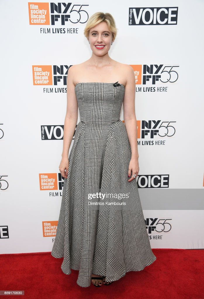 Writer Greta Gerwig attends 55th New York Film Festival screening of 'Lady Bird' at Alice Tully Hall on October 8, 2017 in New York City.